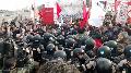Corte en Puente Pueyrredón: Prefectura intentó impedir la medida