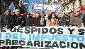 Antesala del paro nacional: cortes, marchas y acto frente al Congreso