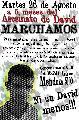 A 5 meses del asesinato de David Moreira exigimos justicia