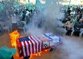 Acto frente embajada sionista 5 agosto por victoria de milicias y pueblo palestino