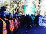 Golpes a trabajadores en Gral. Paz y Constituyentes