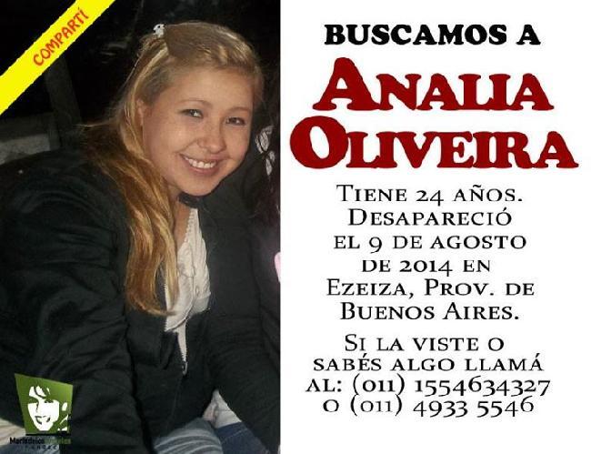 Buscamos a Analía Ol...