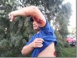 Brutal represión de la Gendarmería a los trabajadores de Lear y organizaciones solidarias