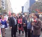 'Debemos reafirmar rechazo a la criminalización de la protesta y el derecho a huelga'