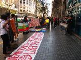 En Buenos Aires se movilizaron en defensa de los espacios sagrados del río Pilmaiquén