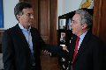 Los presidenciables Macri y Massa se reunen con el narco-criminal Uribe Vélez