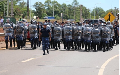 Reprimen en Misiones a trabajadores en la jornada de protesta de la CTA