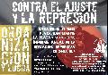 15/11 Jornada Antirrepresiva en Plaza San Martín