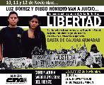 Libertad a Luz y Diego