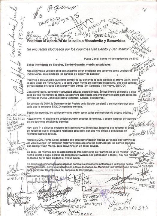 Escobar: el Massismo...
