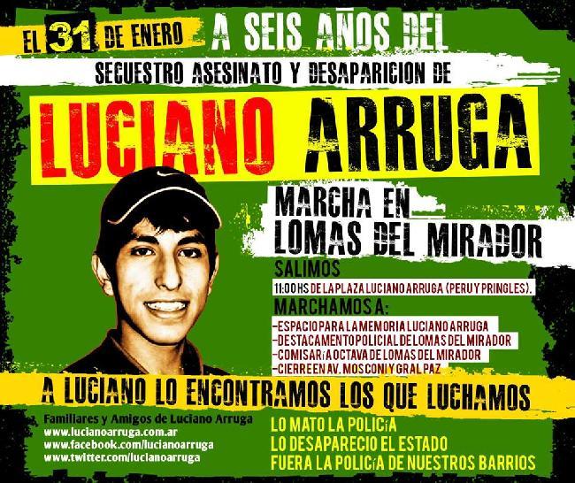 Marcha por Luciano A...