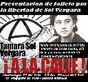 Presentaci�n de Folleto solidario con SOL VERGARA -Bah�a Blanca