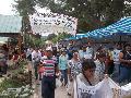 En San Pedro marcharon por el desalojo de la Comunidad Indio Colalao de Trancas