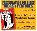 """Presentación del libro """"Vidas y peatones""""."""