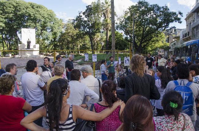 Parque Lezama: El GC...