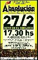 Hoy todos al acto para que absuelvan a los petroleros de Las Heras: 17:30 hs.
