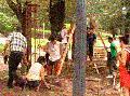 Los vecinos le dicen No a la rejas en el Parque Lezama