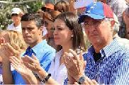 """Venezuela: El """"Acuerdo para la Transición"""" de Machado, Ledezma y López"""