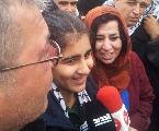 Liberaron a Malak Katheeb, la ni�a de 14 a�os encarcelada por el ej�rcito de Israel
