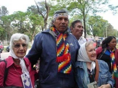 Félix Díaz acampa en...