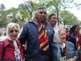 F�lix D�az acampa en Buenos Aires por los derechos del pueblo Qom