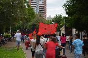 Resistencia, Chaco: Marcha contra el hambre y escrache a los políticos