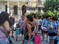 Movilizaci�n de trabajadoras de 4 jardines infantiles en Florencio Varela