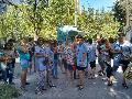 Movilización de trabajadoras de 4 jardines infantiles en Florencio Varela