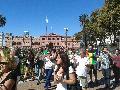 Multitudinaria Marcha en Plaza de Mayo por los Bosques Andino Patag�nicos