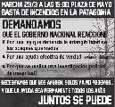 Marcha a Plaza de Mayo y Nacional en defensa de los bosques