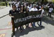 Protestan en Guatemala por asesinato de tres periodistas en una semana
