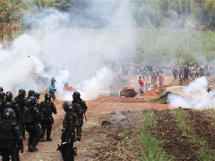 La ORIVAC se integra a lucha de la Liberación de la Madre Tierra en el Cauca