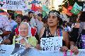 Marcha de la mujer en Buenos Aires