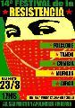 """CABA. Lunes 23/03, 17hs.: 14� Festival de la Resistencia en plaza """"24 de Septiembre''"""