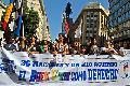 La CTA march� con las Mujeres Originarias por el Buen Vivir