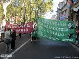 Contundente paro en Rosario