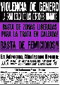 9/4 - Marchamos contra la trata y el femicidio