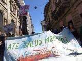 Acompañantes Terapéuticos se manifestaron frente al Ministerio de Salud