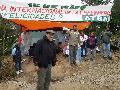 Asamblea informativa en los terrenos ocupados de Campo Verde