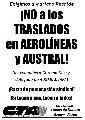 ¡Basta de persecución sindical en Aerolíneas y Austral!