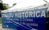 CONADU Hist�rica resolvi� un paro de 48 horas para jueves y viernes