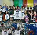 """Grito desde Ayotzinapa hasta Pompeya: """"Vivos se los llevaron, vivos los queremos"""""""