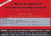 """La Plata: """"La libertad de expresi�n en escenarios de precarizaci�n laboral"""""""