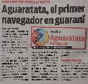 Paraguay: Aguaratata, el primer navegador en guaraní