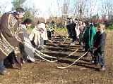 El primer juego de pelota que existió en Neuquén fue Mapuche
