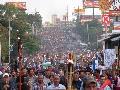 Honduras: Impresionante y abrumadora movilizaci�n de las antorchas
