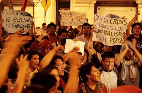 Perú: No a la fascis...