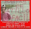 Exigen la inmediata elevación a juicio por el asesinato de Nicolás Nadal