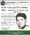 Ciclo de Cine para Descolonizar �D�nde est� Daniel Solano?- Diario de una causa