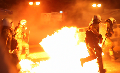 New front line video from the fierce austerity riots (Athens 15 July)